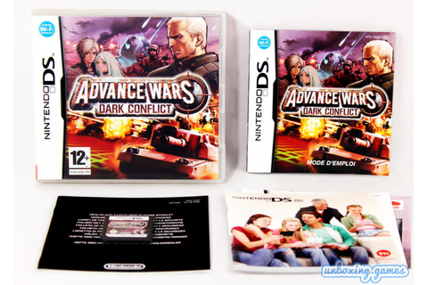 Advance Wars : Dark Conflict [FRA] Nintendo DS (2008 ...