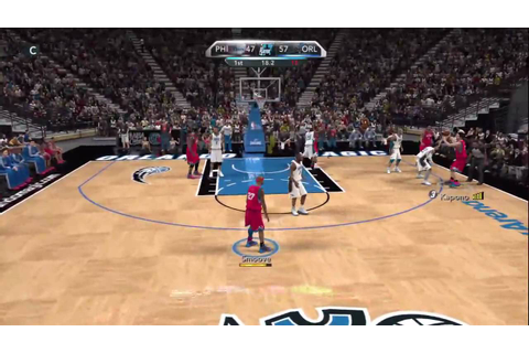 NBA 2K10 - My Player - 1st Game Vs. Magic! - YouTube