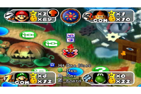 Mario Party 2 Board Game - Horror Land - YouTube