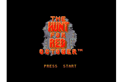 The Hunt for Red October – EVERY GAME… EVER