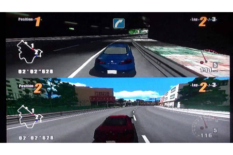 GT Pro Series (Wii) Split-Screen Race at Downtown Street ...
