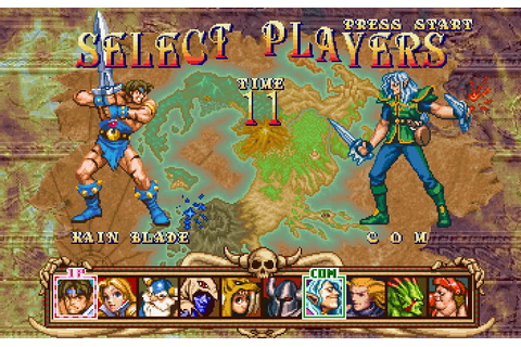 Golden Axe: The Duel on Qwant Games