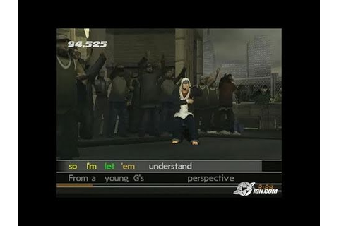 Get On Da Mic PlayStation 2 Gameplay - Video greatness ...