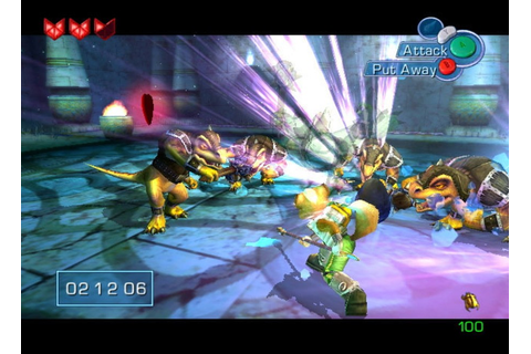 Star Fox Adventures (GCN / GameCube) Screenshots