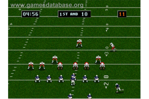 College Football's National Championship II - Sega Genesis ...