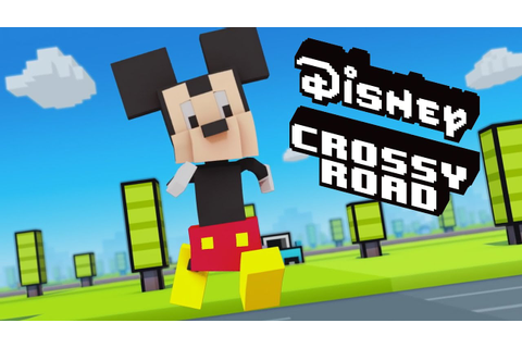 ALL DISNEY CROSSY ROAD CHARACTERS UNLOCKED! - YouTube