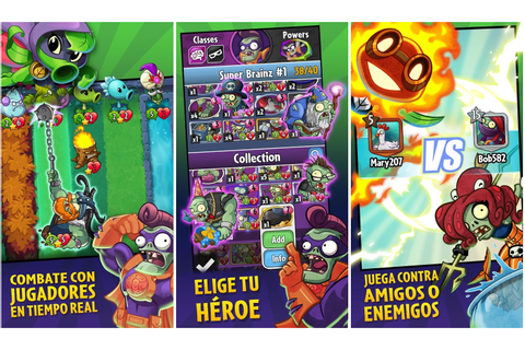 Descargar Plants vs Zombies Heroes para Android e iOS en ...