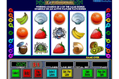 Top Banana slot machine by WMS Gaming, Inc. (1998)
