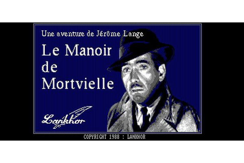Le Manoir de Mortevielle jeu video Aventure sorti sur PC ...