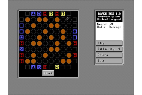 Black Box Download (1993 Puzzle Game)