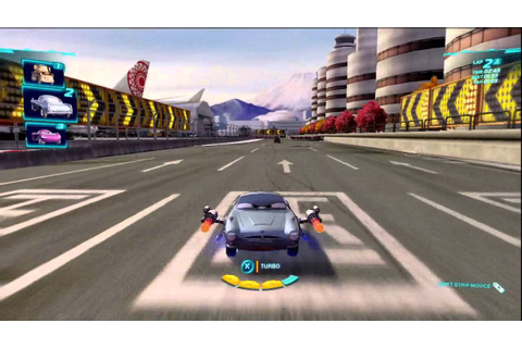 Cars 2 gameplay - battle race - gram.pl - YouTube