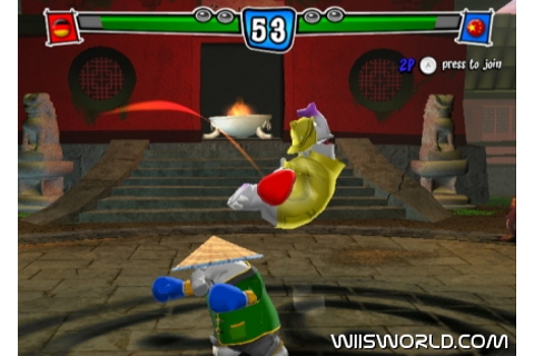 Karate Phants: Gloves of Glory on WiiWare
