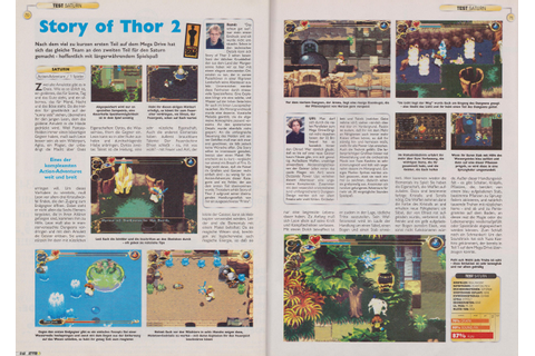The Story of Thor 2 (Saturn) - N.i.n.Retro (New is not ...