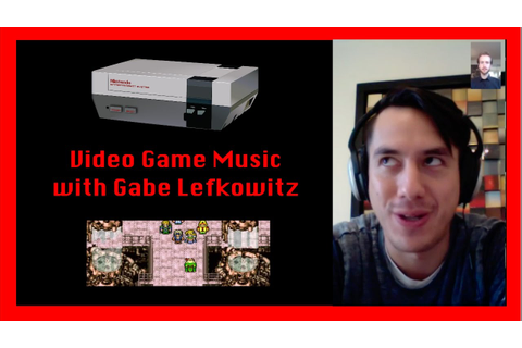 Ask a Maestro: Video Game Music with Gabe Lefkowitz - YouTube