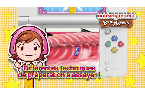 Cooking Mama 5 : Bon Appétit ! - Mama passe à table (3DS ...