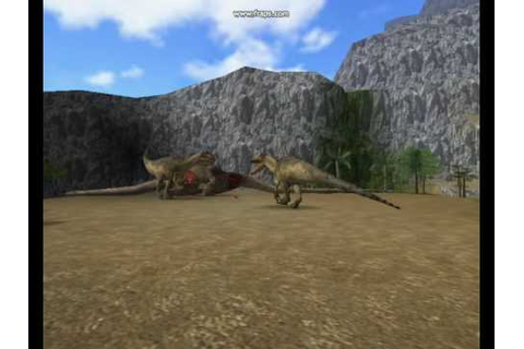 Dinosaur World - Allosaurus - YouTube
