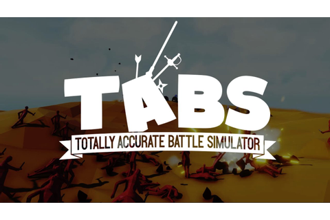 Totally Accurate Battle Simulator Open Alpha Trailer - YouTube