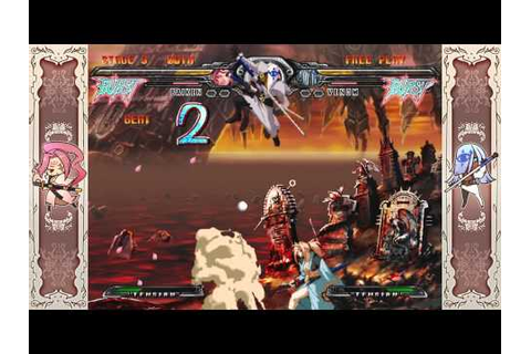 Guilty Gear XX Accent Core Plus: Arcade Mode Baiken - YouTube