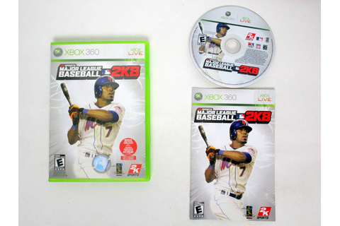 Major League Baseball 2K8 game for Microsoft Xbox 360 ...
