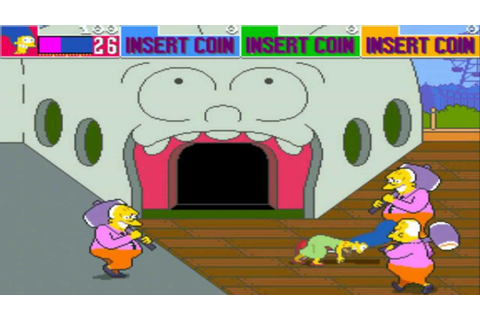 'The Simpsons Arcade Game' was the best game ever based on ...