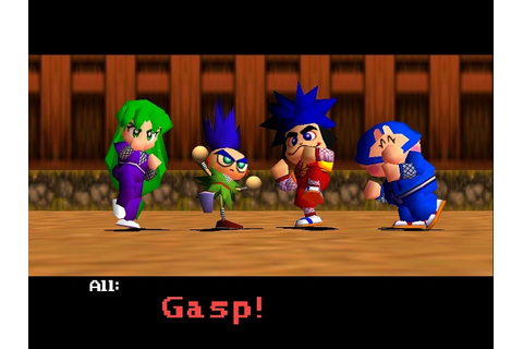 LTTP: Mystical Ninja Starring Goemon (the best N64 game ...