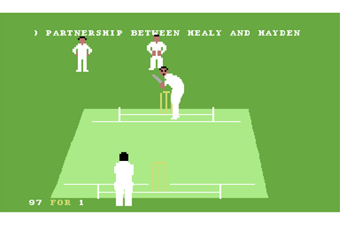 Allan Border's Cricket Screenshots for Commodore 64 ...