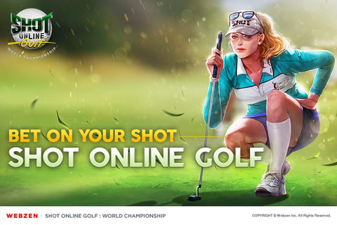 Mobile Sports Game Shot Online Golf: World Championship Is ...