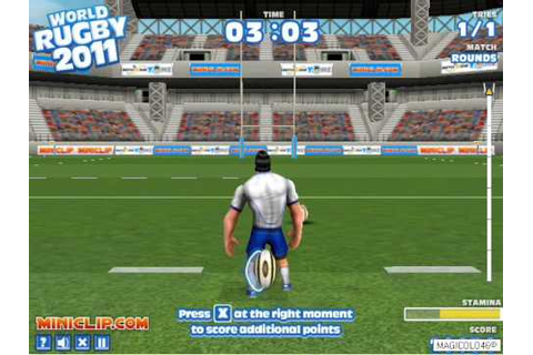 World Rugby 2011 - Miniclip Gameplay by Magicolo 46 - YouTube