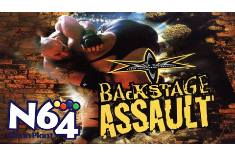 WCW Backstage Assault - Nintendo 64 Review - HD - YouTube