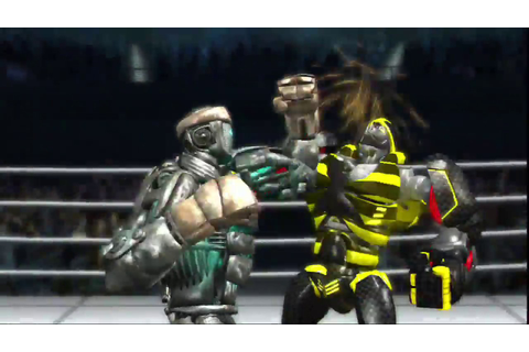 REAL STEEL THE VIDEO GAME XBOX 360/PS3 -ATOM vs VESPULA ...