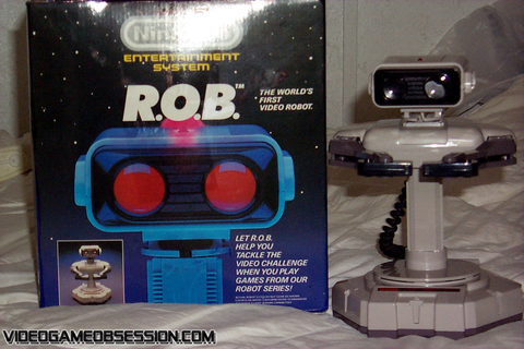 NES R.O.B. @ Video Game Obsession (c) 1996-[present]