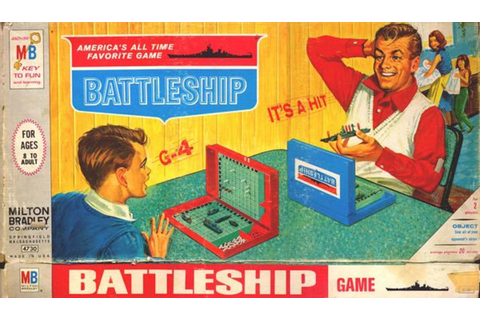 Battleship! Celebrating Nearly 50 Years of Milton Bradley ...