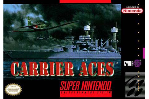 Carrier Aces SNES ROM (EUR) Download - GameGinie