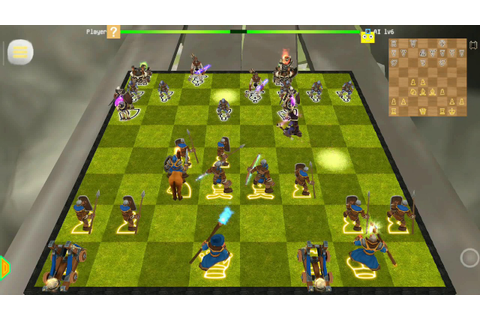 Battle Chess Android Chess 3D Animation : Real Battle ...