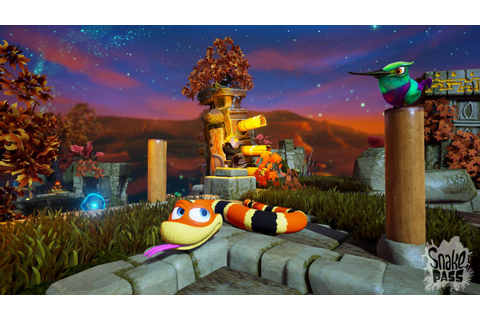 Nintendo Switch Snake Pass has Confounding Controls, but ...