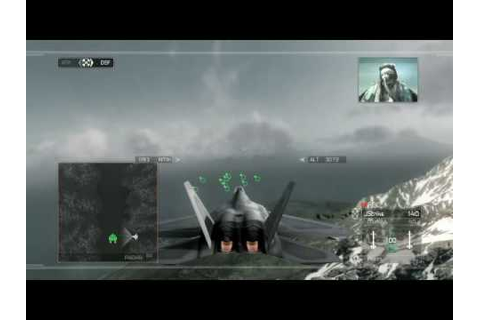 HAWX F-22 raptor gameplay and commentary (PS3) - YouTube