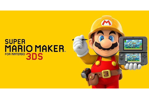 Super Mario Maker For Nintendo 3DS Review - GameLuster