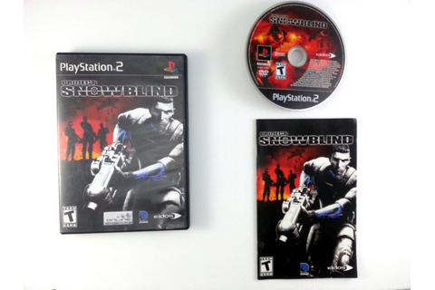 Project Snowblind game for Playstation 2 (Complete) | The ...