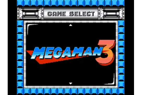 Megaman: The Wily Wars - Game Select (2A03 cover) - YouTube