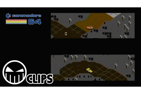 Quick Clips - Commodore 64 - 002 - Racing Destruction Set ...