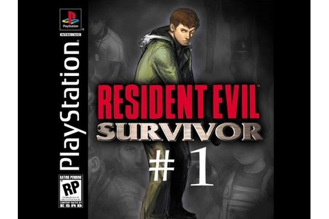 Resident Evil Survivor (PS1) Walkthrough part 1. - YouTube