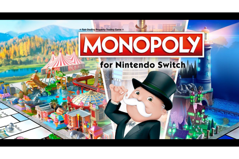 Monopoly for Nintendo Switch Gameplay - YouTube