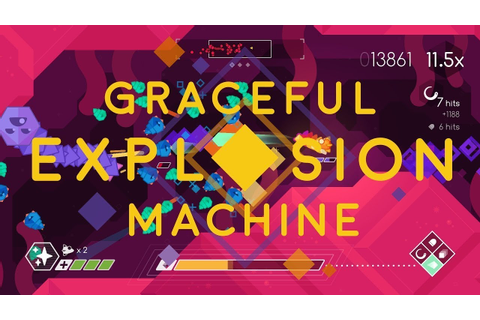 GRACEFUL EXPLOSION MACHINE - Gameplay Preview. PS4 ...
