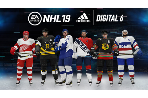 NHL® 19 Digital 6 Jerseys in partnership with adidas – EA ...
