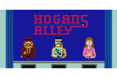 Hogan's Alley | NES | Games | Nintendo