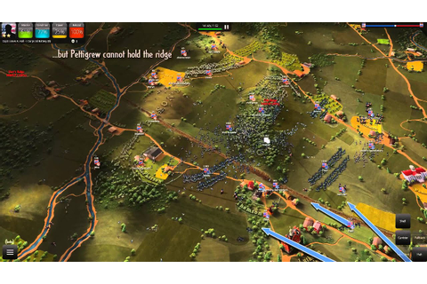 Ultimate General: Gettysburg Beta Gameplay - YouTube