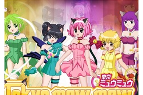 Tokyo Mew Mew Character Creator - Girl Games