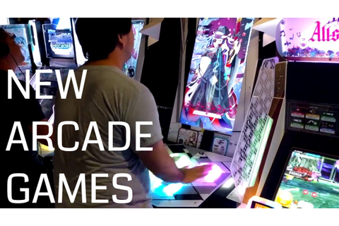 Three New Arcade Games - Musica, Project Mika and Sound ...