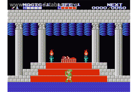 Zelda II: The Adventure of Link - Nintendo NES - Games ...