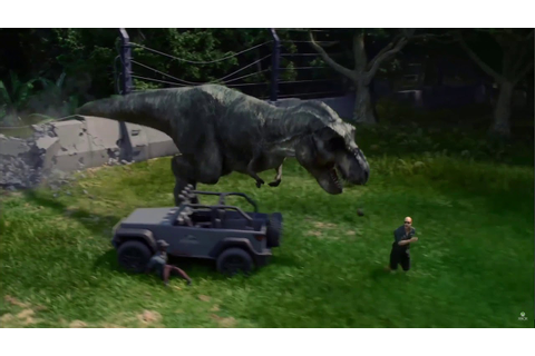 Jurassic World Evolution Trailer (NEW GAME ANNOUNCEMENT ...